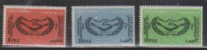 KUWAIT Scott # 278-80 MNH - International Co-operation Year