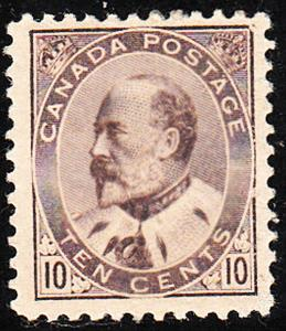 Canada #93  Mint  F-VF  LSP93c