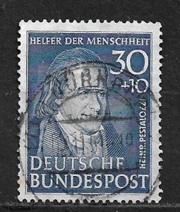 COLLECTION LOT OF # B323 GERMANY 1951 CV= $100