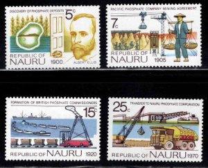 NAURU Scott 120-123 MNH** stamp set