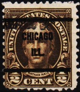 U.S.A. 1922 1/2c(Pre Cancel) S.G.559 Fine Used