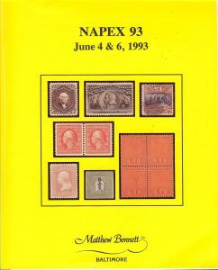 Napex 93, Public Auction 187, Bennett 187