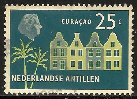 Netherlands Antilles 1958 Scott# 249 Used