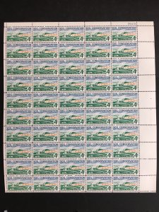 1959 sheet, Soil Conservation issue Sc# 1133