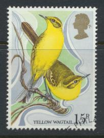 Great Britain  SG 1112 SC# 887 Used / FU with First Day Cancel - Wild Birds P...