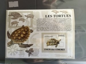 Comoro Islands 2009 Turtles  mint never hinged stamp sheet R25283