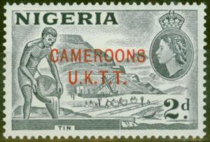 Cameroon 1960 2d Slate-Blue SGT4b Type B V.F MNH Royal Certificate