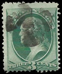 # 158 Green Used Major Double Transfer Variety George Washington