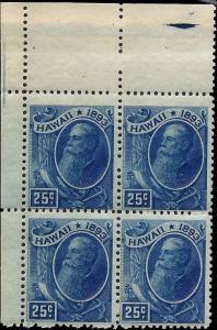 Hawaii 79 Mint,OG,NH... Block of 4... SCV $190.00