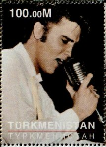 Turkmenistan 1999 Elvis Miniature sheet  Unlisted