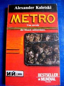 Libro en español Alexander Kaletski Metro  Used