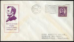 #635a-1 SCARCE - U.S. FIRST DAY COVER CACHET BM9324