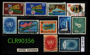 United Nations 11 total  ~ CLR90356