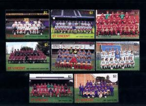 [44555] St. Vincent 1987 Sports Soccer Football Club England Manchester MNH