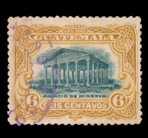 GUATEMALA STAMP 1902 SCOTT # 117. USED. # 4