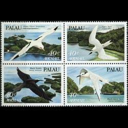 PALAU 1984 - Scott# C4a Birds Set of 4 NH
