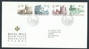 GB QEII 1988 Windsor Cancel High Value  Castles SG 1410 -...