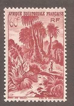 French Equatorial Africa 170 Mint F-VF H
