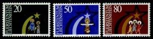 Liechtenstein 769-71 MNH Christmas, Three Magi