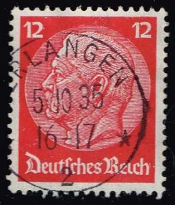 Germany #422 Paul von Hindenburg; Used (0.40)