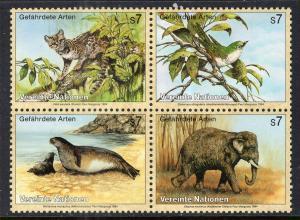 UN Vienna 165a Animals MNH VF