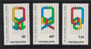 Venezuela 150th Anniversary of Panama Amphictyonic Congress 3v SG#2335-2337