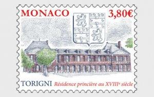 Stamps Monaco 2020. - Ancient Grimaldi Strongholds - Torigny - Mint