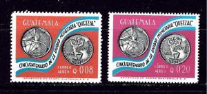 Guatemala C610-11 MNH 1976 set