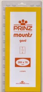 Prinz Scott Stamp Mount 76/265 BLACK Background Pack of 5