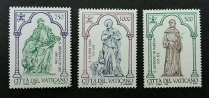 Vatican Padua St. Antonius V 1995 Saint (stamp) MNH *recess effect *unusual