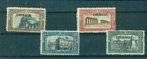 Cyrenaica - Sc# B13-6. 1927 Semi Postals. LH. $18.50.
