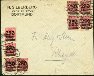 GERMANY  INFLATION  DORTMUND  COVER  10.23  AS SHOWN