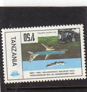 Tanzania Anniv of  Civil Aviation MNH