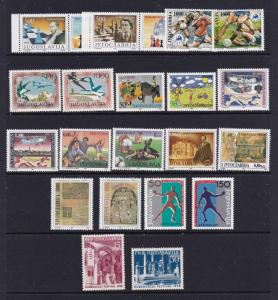 Yugoslavia a nice MNH lot from about 1992