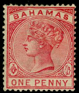 BAHAMAS SG47, 1d pale rose, M MINT. Cat £90.