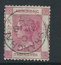 Hong Kong SG 32a  FU lovely Shanghai cancel