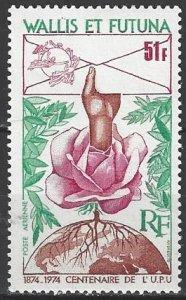 Wallis and Futuna Islands C54  MNH  UPU Centenary 1974