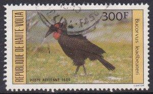 Burkina Faso (Upper Volta) #C295 F-VF postally used Bird