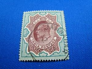 INDIA  -  SCOTT #72   -  USED    (wwi8)