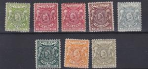 BRITISH EAST AFRICA  1896 - 01  SG  65 - 74  VARIOUS VALUES TO 8A MH  1A NO GUM