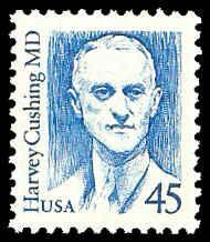 PCBstamps  US #2188 45c Dr. Harvey Cushing, bright blue, MNH, (5)