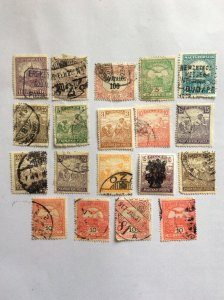 Hungary x19 older used hinged.