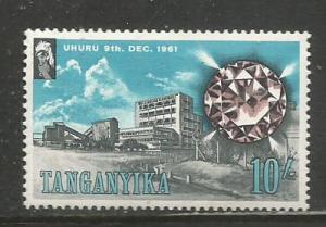 Tanganyika   #55  MH  (1961)  c.v. $17.50