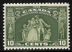 Canada #209 XF NH C$80.00 - Choice Gum and Centering