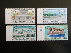 Kiribati #473-76 Mint Never Hinged (N7M0) WDWPhilatelic 3