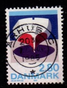 Denmark -  #787 Boat - Used