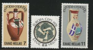 GREECE Scott 1173-1175  MNH** Europa 1976  set