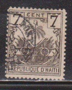 HAITI Scott # 42 Used - Palm Tree