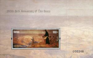 Kenya 2015 The 200th Anniversary of the Birth of Giovanni Bosco, 1815-1888 SS...