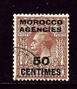 Great Britain-Morocco 407 Used 1923 issue    (ap3509)